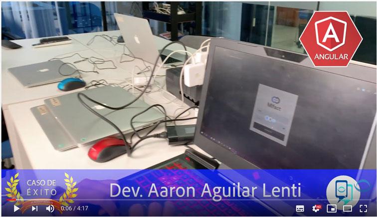 caso de éxito: Aaron Aguilar, nos cuenta sobre su proyecto, curso Angular en Academia m�viles