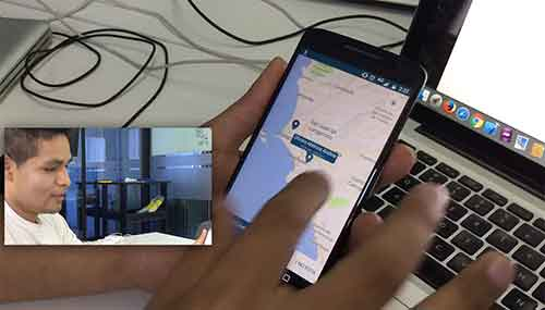 caso de éxito Marcos Luna (ex-alumnos ) nos muestra su app Android