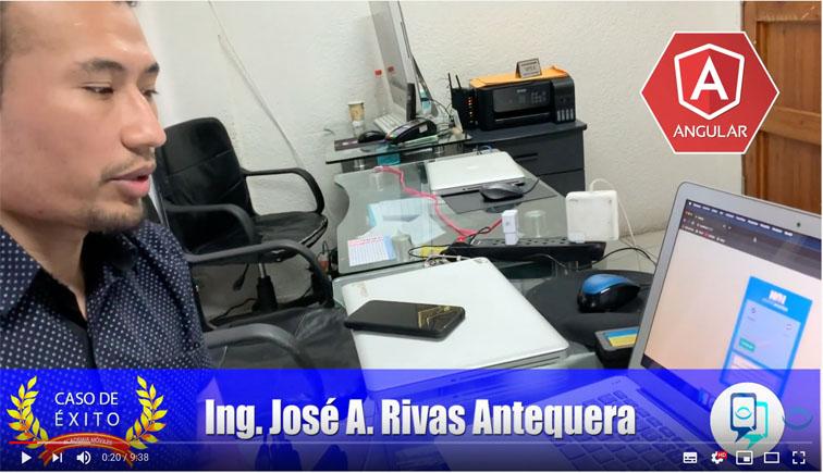 caso de éxito: Jos� Rivas, presenta su proyecto para sustentar el Diploma  en Academia m�viles