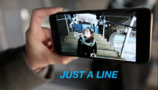 JUST A LINE, la nueva app de Google que permite dibujar