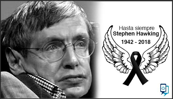 caso de éxito Muere físico Stephen Hawking a los 76 años