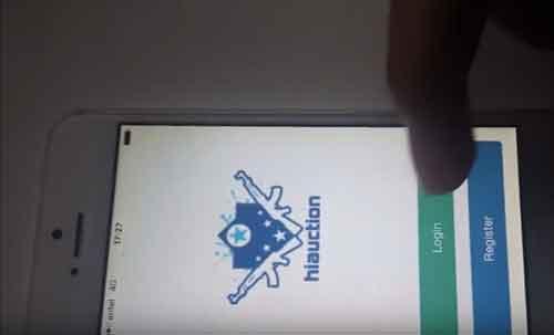 caso de éxito Alexander Cayetano, nos presenta su  APP iPhone de SUBASTAS